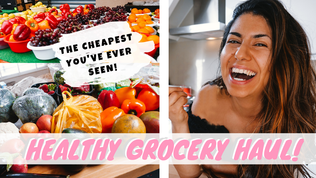 HEALTHY GROCERY HAUL | THE CHEAPEST YOU'VE EVER SEEN! | Teni
